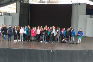 Klasa 6a i 6e w Muzeum Polskiej Piosenki w Opolu